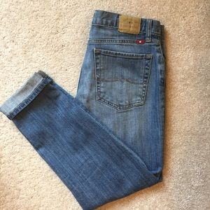 Lucky Brand Sienna Cigarette Cropped Jeans